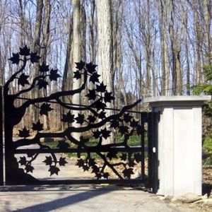 18 метални порти што импресионираат