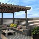 Импресивни идеи за клупи кои се поставени на кров