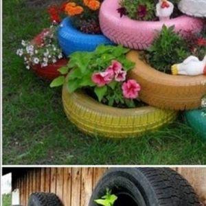 Идеи за креативно рециклирање на вашите саксии во градината