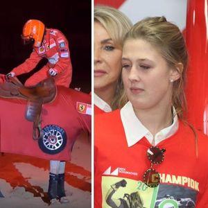 Тато ова е за тебе: Џина за Шумахер ги носеше боите на Ферари