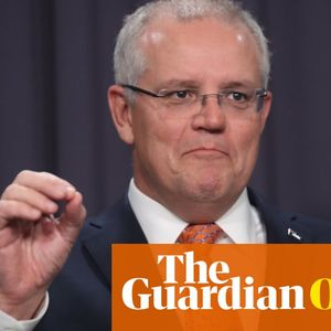 'Politics off the front page' is part of Scott Morrison's bid to dial down the volume | Sarah Martin