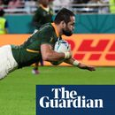South Africa demolish 14-man Canada to enter Rugby World Cup last eight