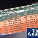 French Open trophy error lists Britain's Sue Barker as Australian