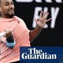 Nick Kyrgios goes for broke in tennis punch-up but ends on the floor | Kevin Mitchell