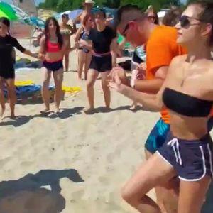 И такова нещо не се бе случвало по Черноморието - директно на плажа!