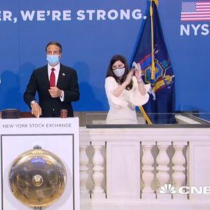 Стоковата борса в Ню Йорк възстанови частично дейността си