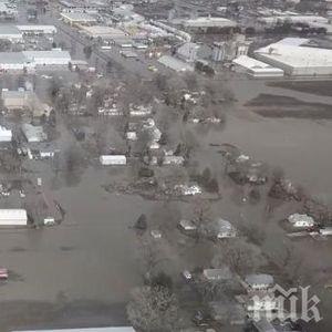 БЕДСТВИЕ: Небраска е под вода, Мисури преля