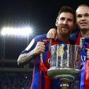 Иниеста: С Меси в състава Барса трябваше да спечели повече пъти Шампионска лига