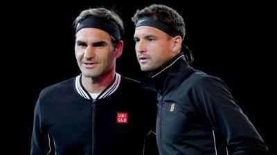 Роджър Федерер и Григор Димитров тренират заедно преди Уимбълдън