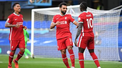 Мохамед Салах вкара гол номер 100 в Ливърпул, само двама са го правили по-бързо от него