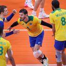 Бразилия се класира за полуфиналите на волейболния турнир на Олимпийските игри