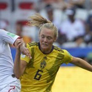 England 1:2 Sweden
