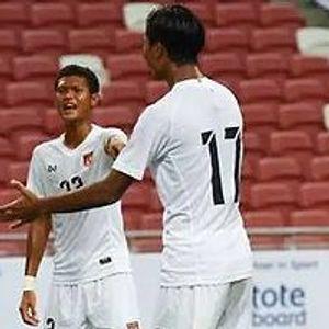 Singapore 1:2 Myanmar