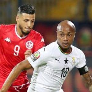 Ghana 1:1 Tunisia