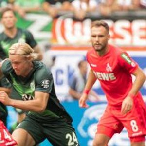 Wolfsburg 2:1 FC Cologne