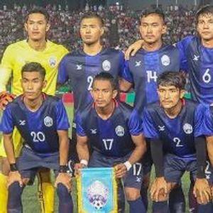 Cambodia 1:2 Singapore