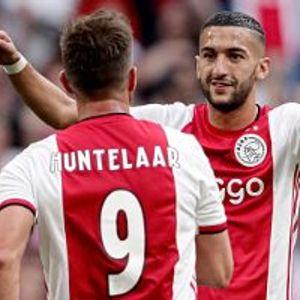 Ajax 4:1 SC Heerenveen