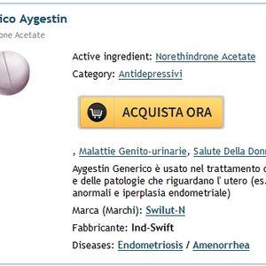 Meglio Comprare Norethindrone Online. Pillola Store Online