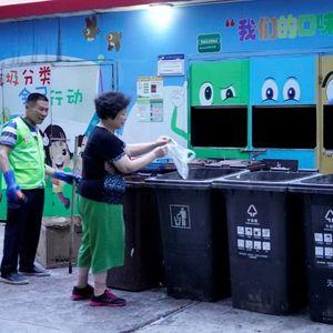 Шанхай и боклукът: Награда, ако хвърляш отпадъците правилно!