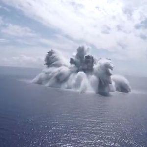 С взрив проверяват готовността на корабите на САЩ за битка