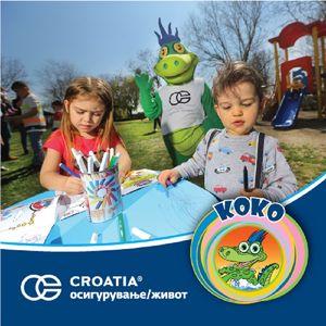 Подароци за најмалите со секоја направена полиса КОКО детско штедно осигурување