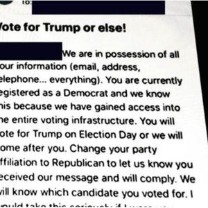 ФБИ/КИСА: Ирански хакери собрале податоци за американски гласачи