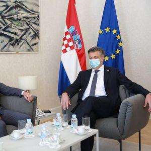 Пленковиќ – Османи: Продолжува поддршката на Хрватска за евроинтеграцискиот процес