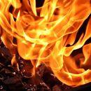 Пожар во индустрискиот дел кај спортскиот центар во Тетово