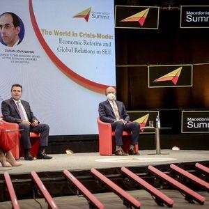 """Заев на Самитот """"Македонија 2025"""": Обезбедуваме сигурност на инвестициите со воспоставување на владеење на правото"""