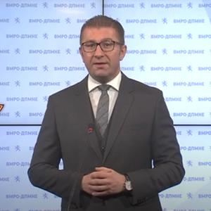 Мицкоски: Тешко на Македонија ако решението се Заев и Бучковски