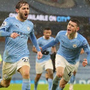 Сити се лидери во Премиер лигата по победата над Вила во меч со неверојатен број на шанси
