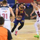 """Барса со """"чуден"""" триумф над Басконија до 20 победи во Евролигата"""