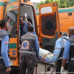 Најмалку 18 загинати во Египет, кога камион удрил во минибус