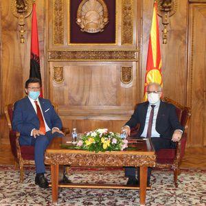 Средба Џафери-Мази: Северна Македонија и Албанија делат заеднички интереси во надворешната политика