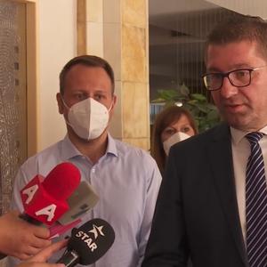 Мицкоски: Не може Заев, кој се среќавал со криминалци во својот дом, да направи пресврт во Брисел