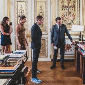 Макрон е фан на Џастин Бибер: Пејачот на гости кај францускиот претседател