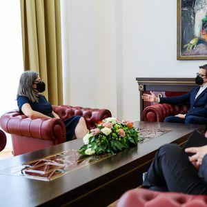 Пендаровски – Да Силва Пина: Односите на С. Македонија и Португалија се пријателски со можност за натамошно унапредување