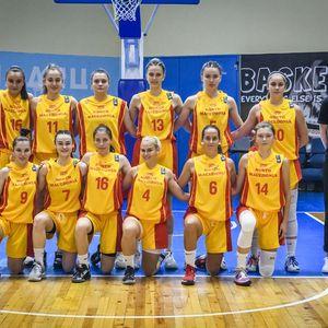 Женската У-18 репрезентација во две четвртини не постигна кош, прими 64 поени