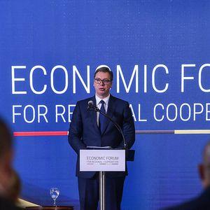 """Вучиќ: Имаше позитивни и негативни реакции, но иницијативата """"Отворен Балкан"""" е во интерес на регионот"""
