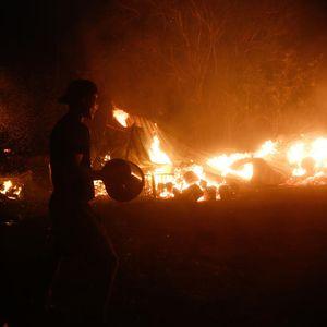Прва жртва на пожарите во Косово