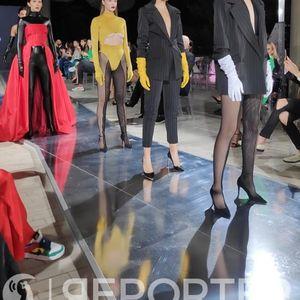 Корсети, панталони и фустaни во силни бои: Модна ревија на Митко Занов