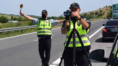 116 санкции за брзо возење на автопатот Куманово-Скопје-Велес