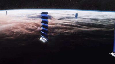 Starlink сателит во пламен влезе во атмосферата на Земјата