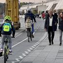 Ноле со точак низ Белград додека минувачите покрај Сава не го криеја воодушевувањето