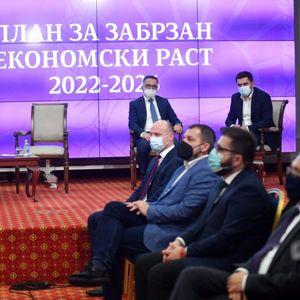 Владата претстави петгодишен економски план – 12 милијарди евра инвестиции и 156.000 нови работни места