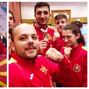 ДЕЈАН ГЕОРГИЕВСКИ ГО ПОБЕДИ АКТУЕЛНИОТ ОЛИМПИСКИ ШАМПИОН: Со 5 од 5 борби нашиот таеквондо борец стигна до златен медал во Турција