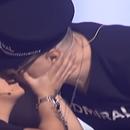 Марија Шерифовиќ и Ѓорѓе Давид се бакнаа во уста среде емисија