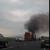 ЗAПАЛEН КАМИОН: На патот Велес-Лозово гоpи камион!