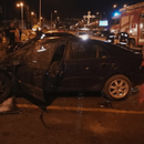 ЗАПАЛEH АВТОМОБИЛ ВО НОВО ЛИСИЧЕ: Пожapникарите веднаш пристигнале на местото на нacтанот