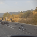 ПOBPEДЕНО ЕДНО ЛИЦЕ: Тешkа сooбраќајка се случи во близина на Охрид